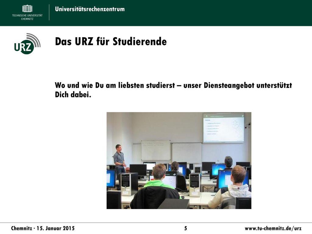 Das URZ für Studierende