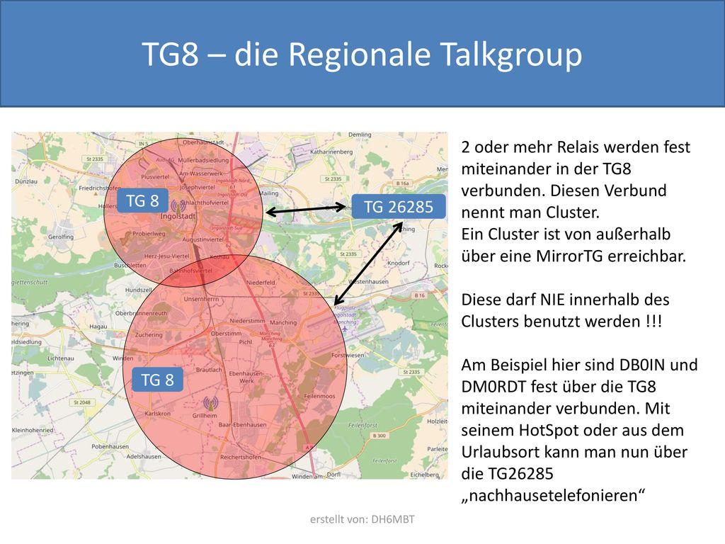 TG8 – die Regionale Talkgroup