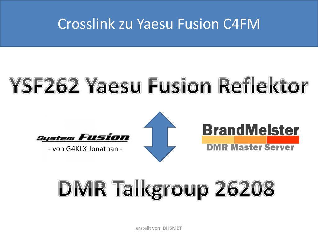 YSF262 Yaesu Fusion Reflektor