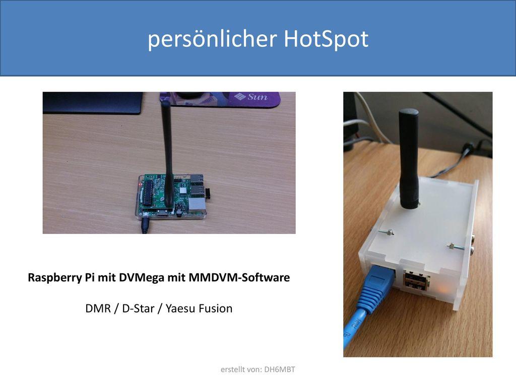 Raspberry Pi mit DVMega mit MMDVM-Software