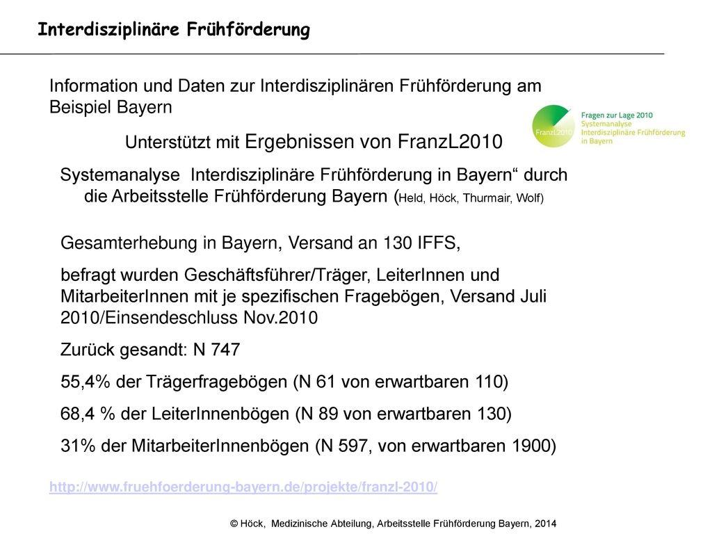 Unterstützt mit Ergebnissen von FranzL2010