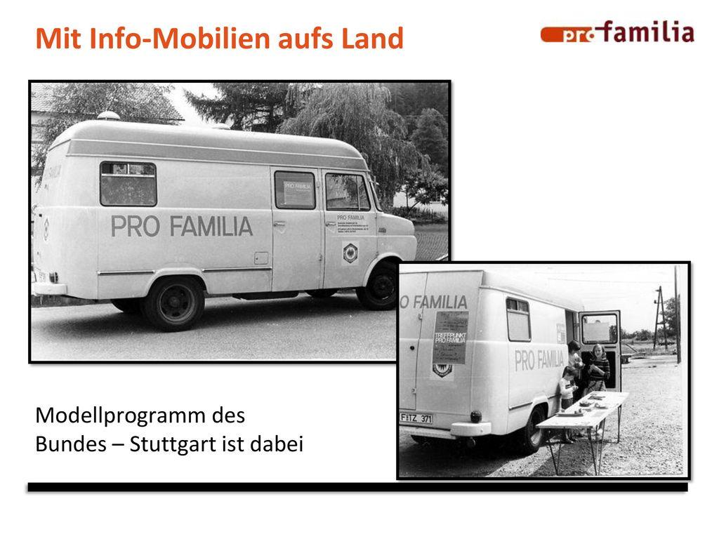 Mit Info-Mobilien aufs Land