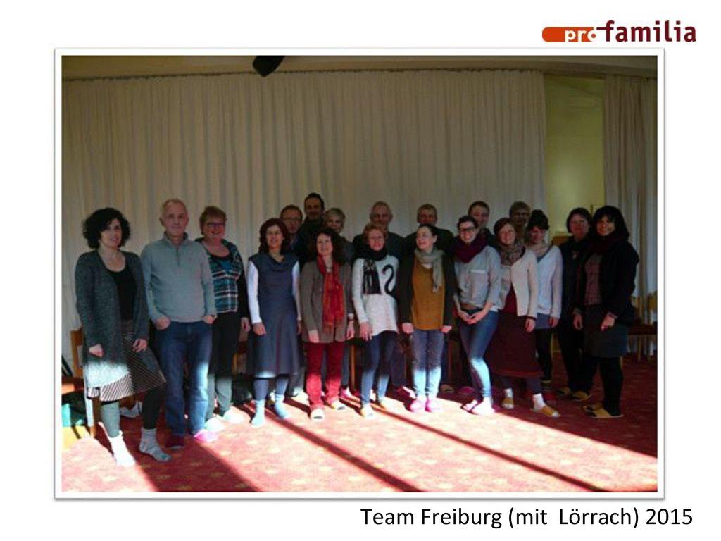 Team Freiburg (mit Lörrach) 2015