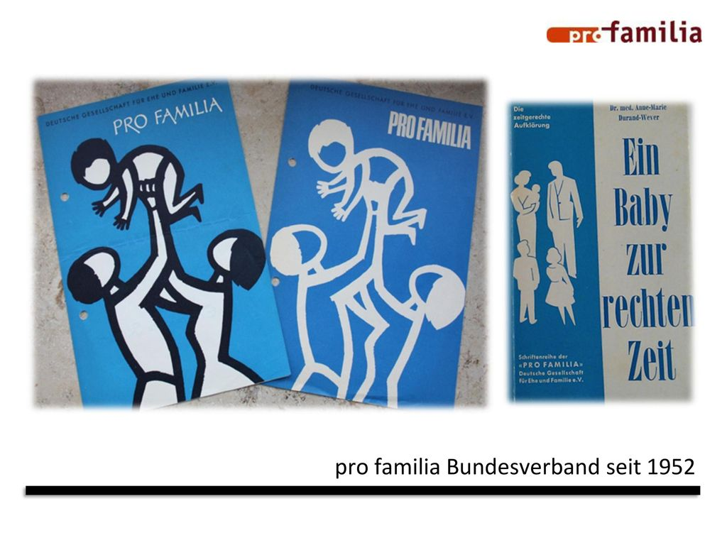 pro familia Bundesverband seit 1952