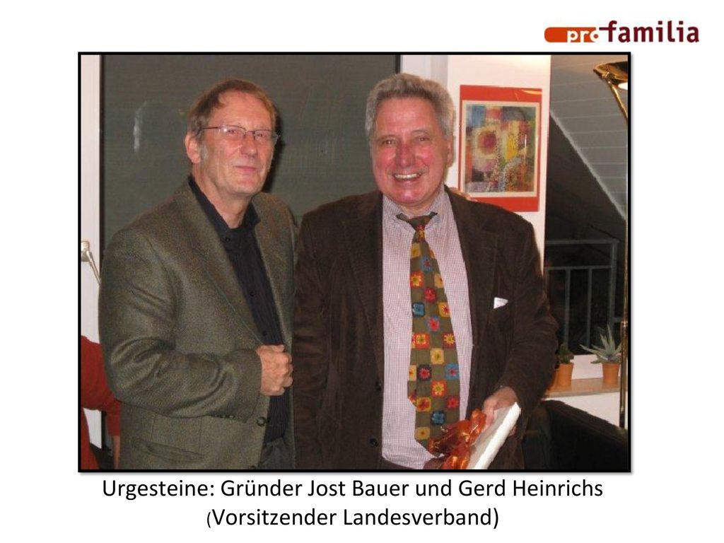 Urgesteine: Gründer Jost Bauer und Gerd Heinrichs