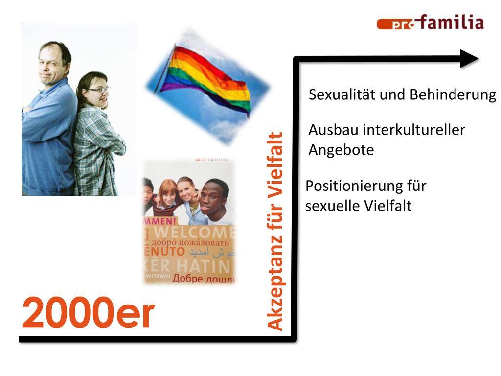 2000er Akzeptanz für Vielfalt Sexualität und Behinderung