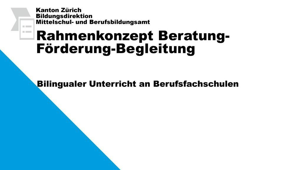 Rahmenkonzept Beratung- Förderung-Begleitung