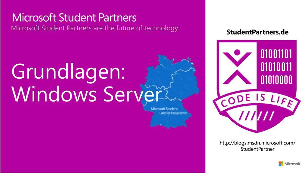 Grundlagen: Windows Server
