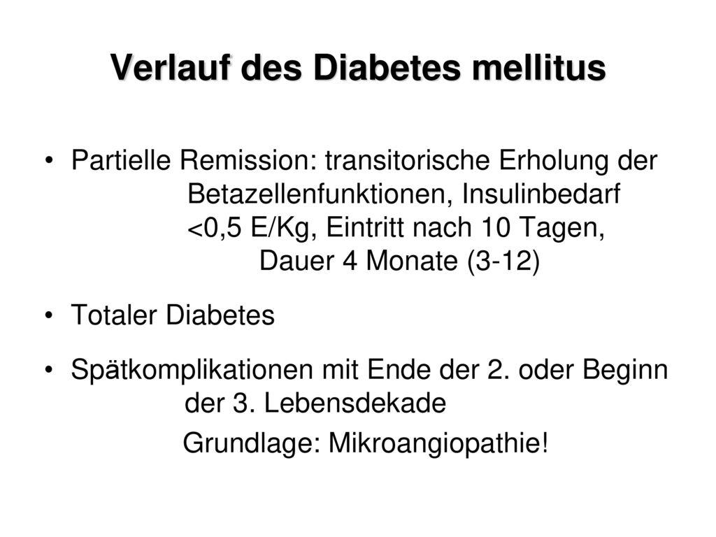 Hypoglykämie 3. Ursachen: Zu langer Spritz-Eß-Abstand