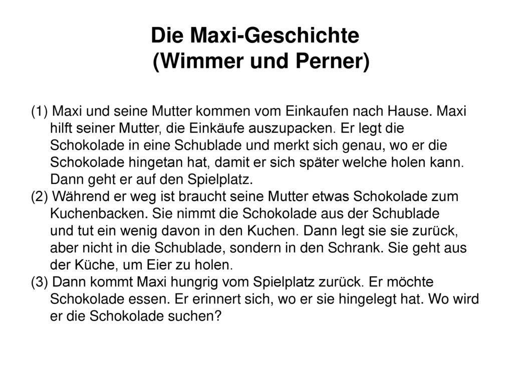 Die Maxi-Geschichte (Wimmer und Perner)