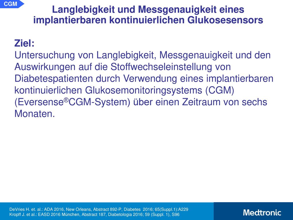 Messprinzip des Eversense®CGM-Systems: