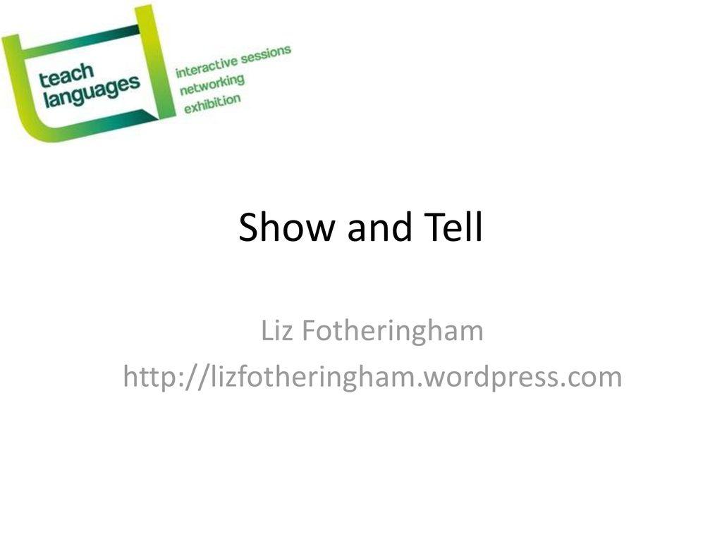 Liz Fotheringham http://lizfotheringham.wordpress.com