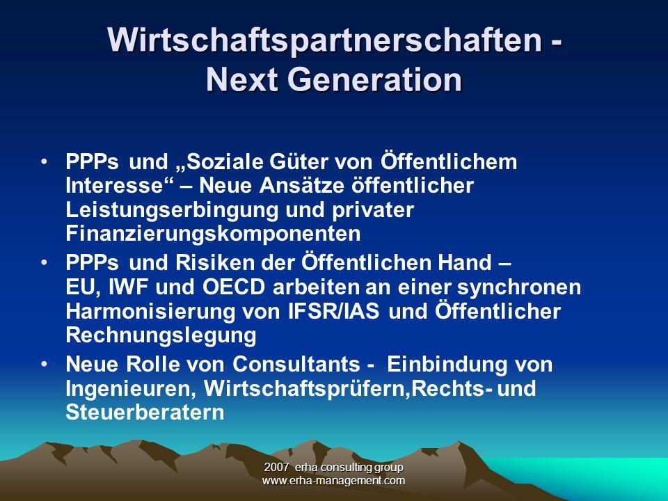 Wirtschaftspartnerschaften - Next Generation