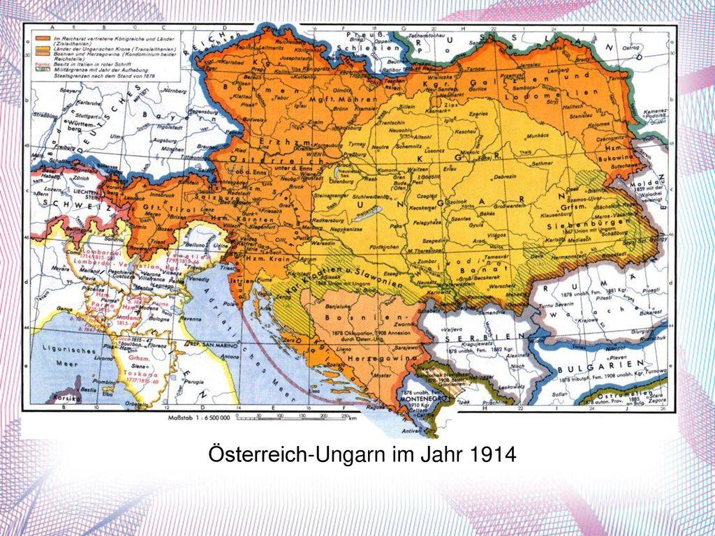 Österreich-Ungarn im Jahr 1914