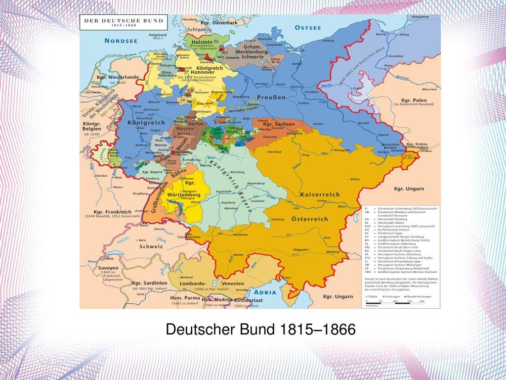 Deutscher Bund 1815–1866