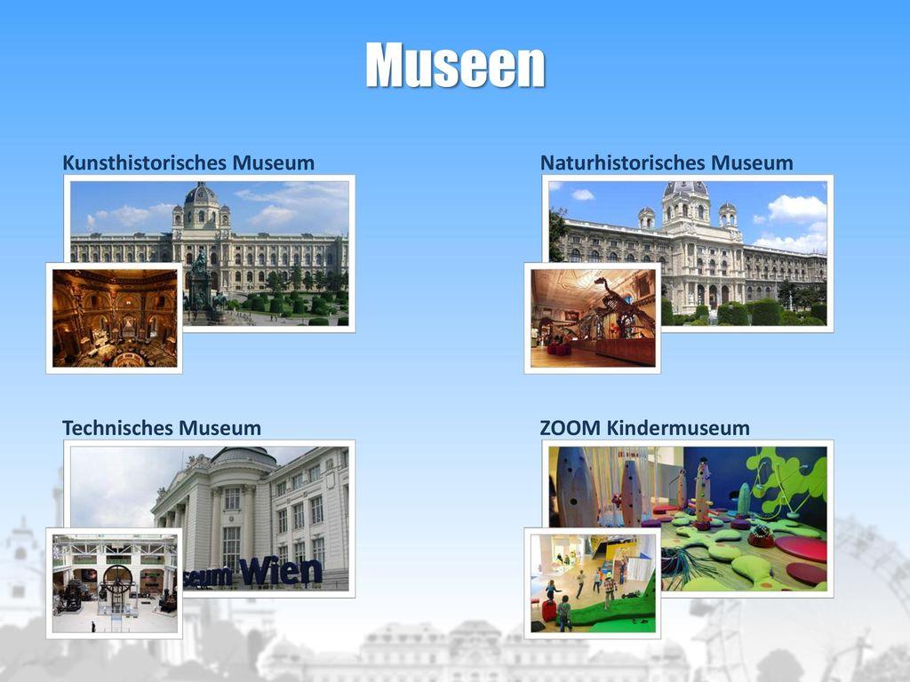 Museen Kunsthistorisches Museum Naturhistorisches Museum