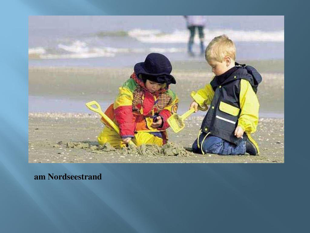 am Nordseestrand