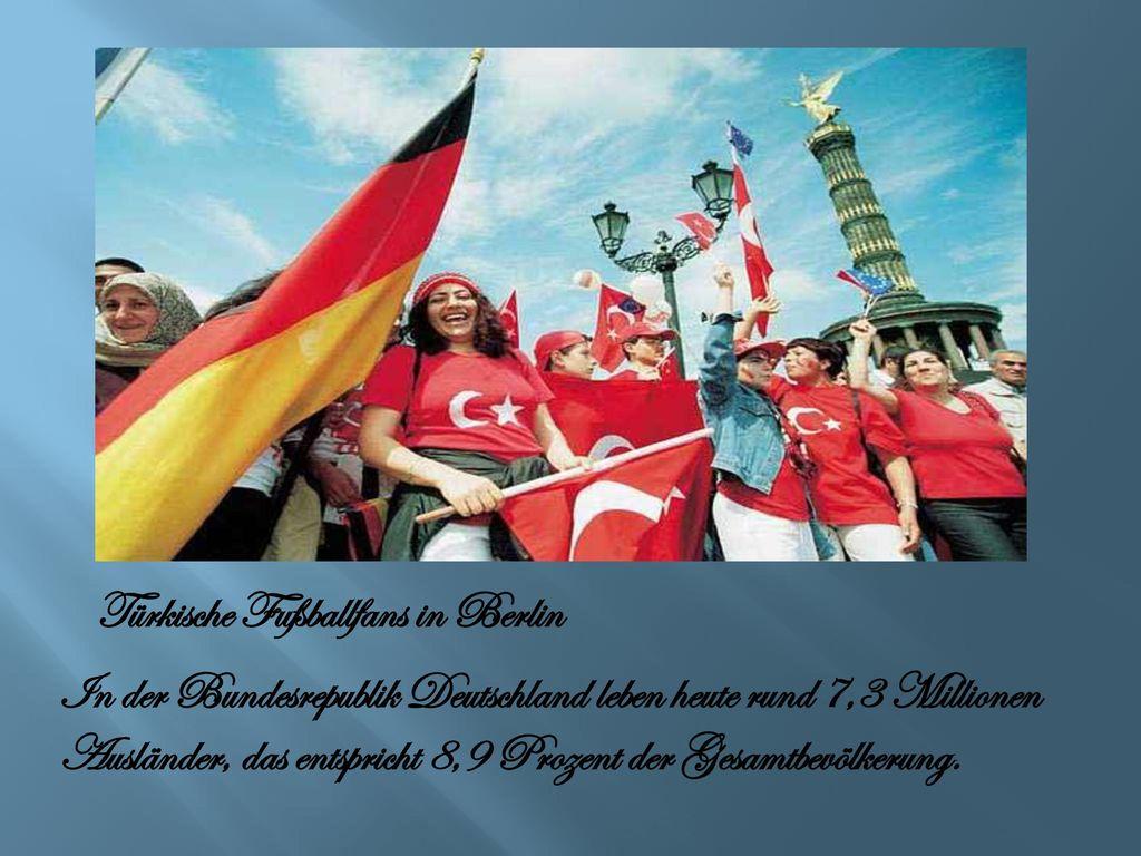 Türkische Fußballfans in Berlin