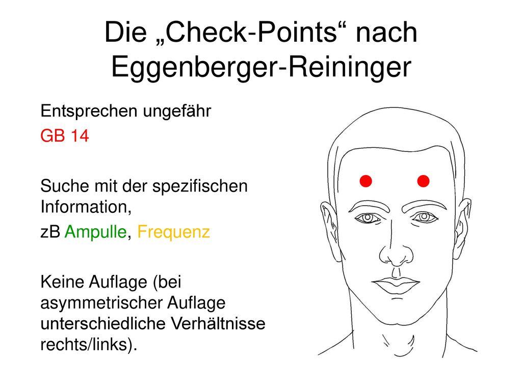 """Die """"Check-Points nach Eggenberger-Reininger"""