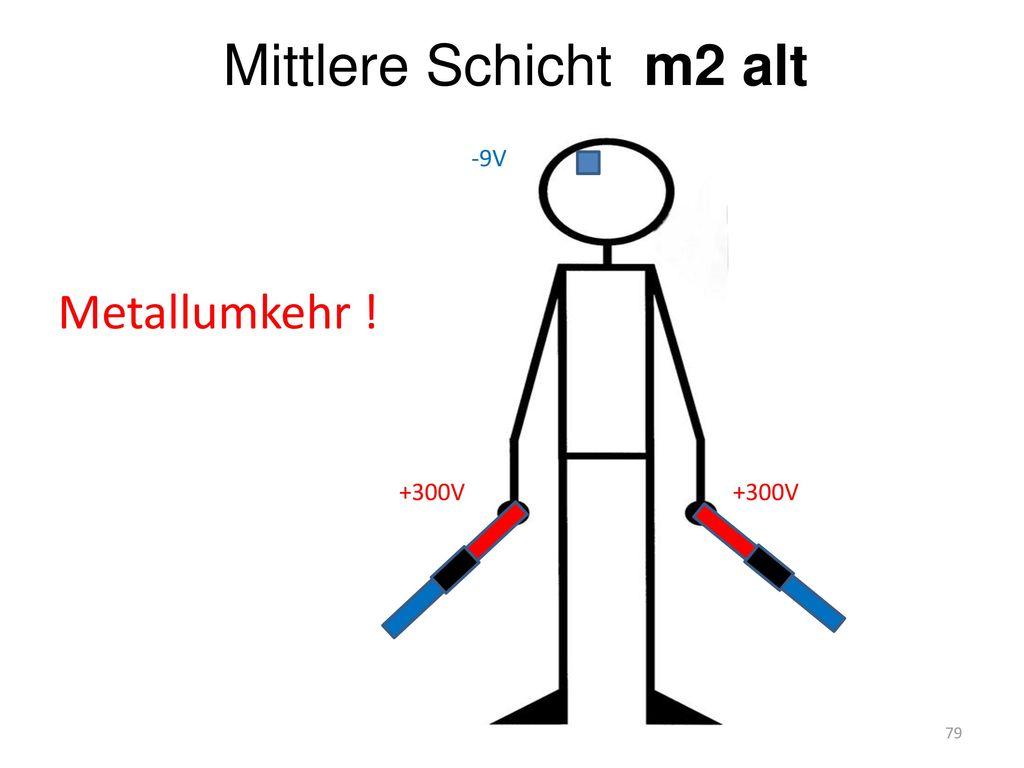 Mittlere Schicht m2 alt Metallumkehr ! +300V -9V
