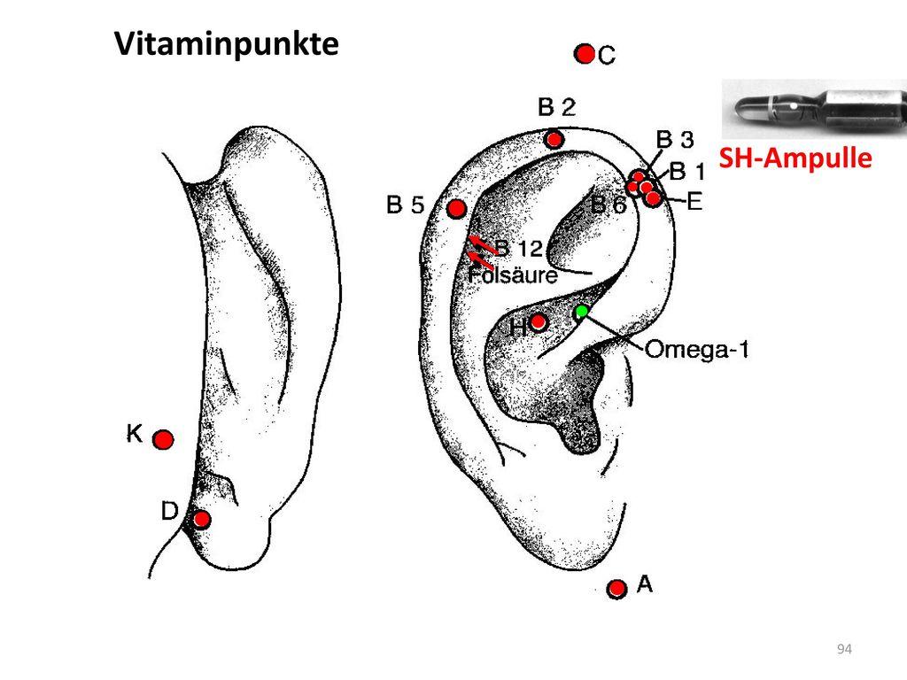 Vitaminpunkte SH-Ampulle