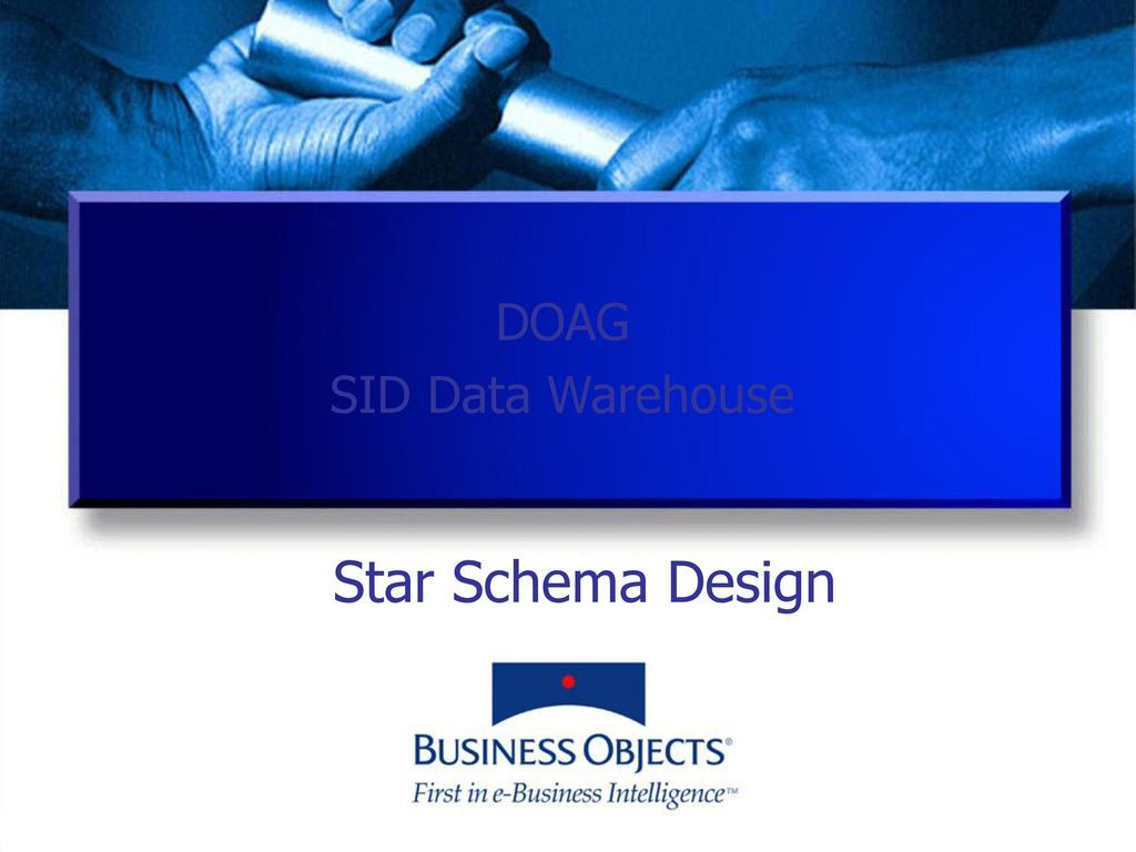 DOAG SID Data Warehouse