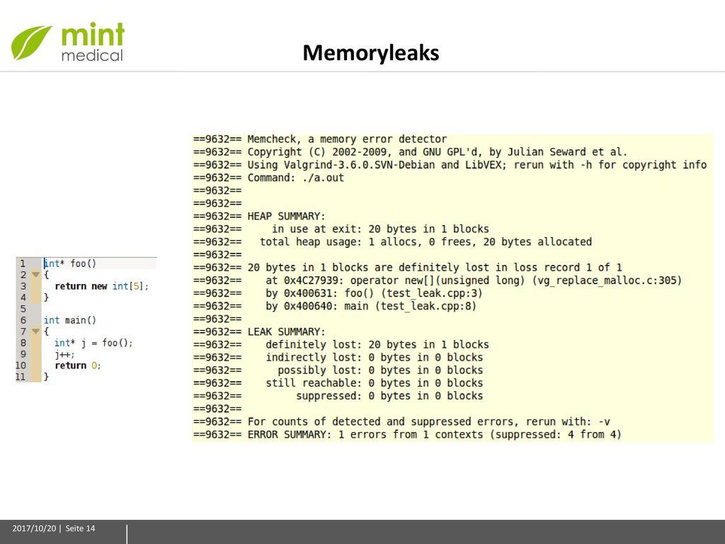 Memoryleaks