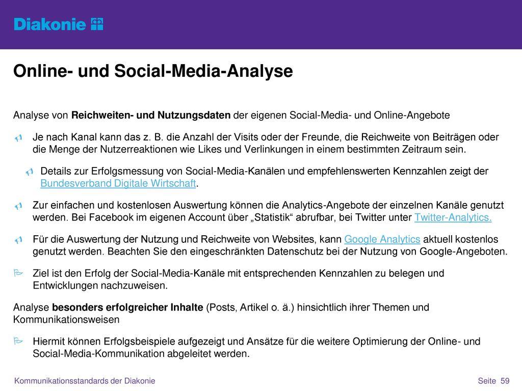 Online- und Social-Media-Analyse