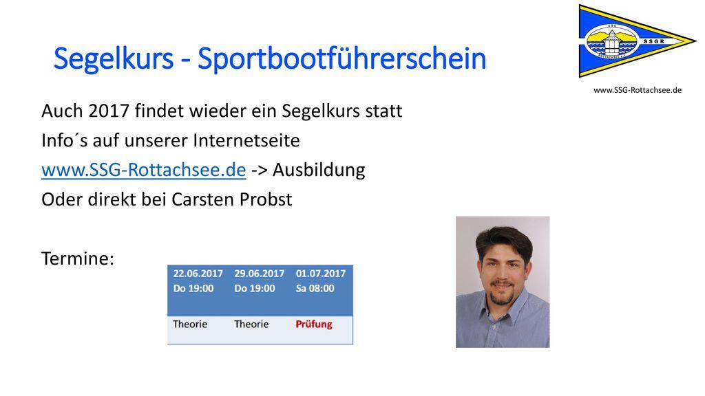 Segelkurs - Sportbootführerschein