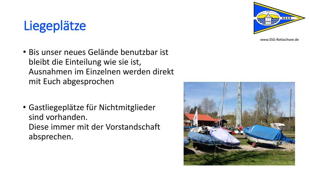 Liegeplätze www.SSG-Rottachsee.de.