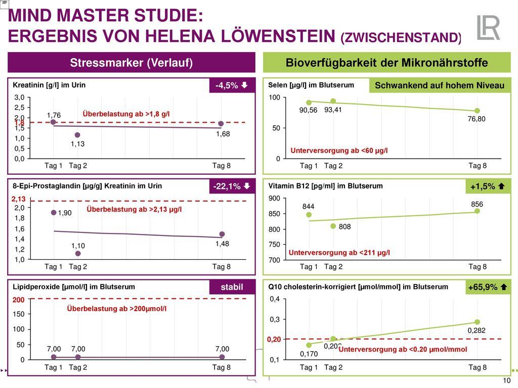 MIND MASTER STUDIE: ERGEBNIS VON HELENA LÖWENSTEIN (ZWISCHENSTAND)