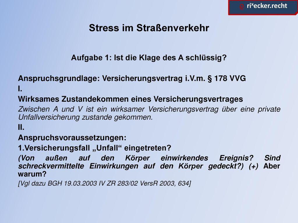 Stress im Straßenverkehr