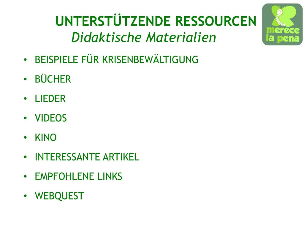 Didaktische Materialien
