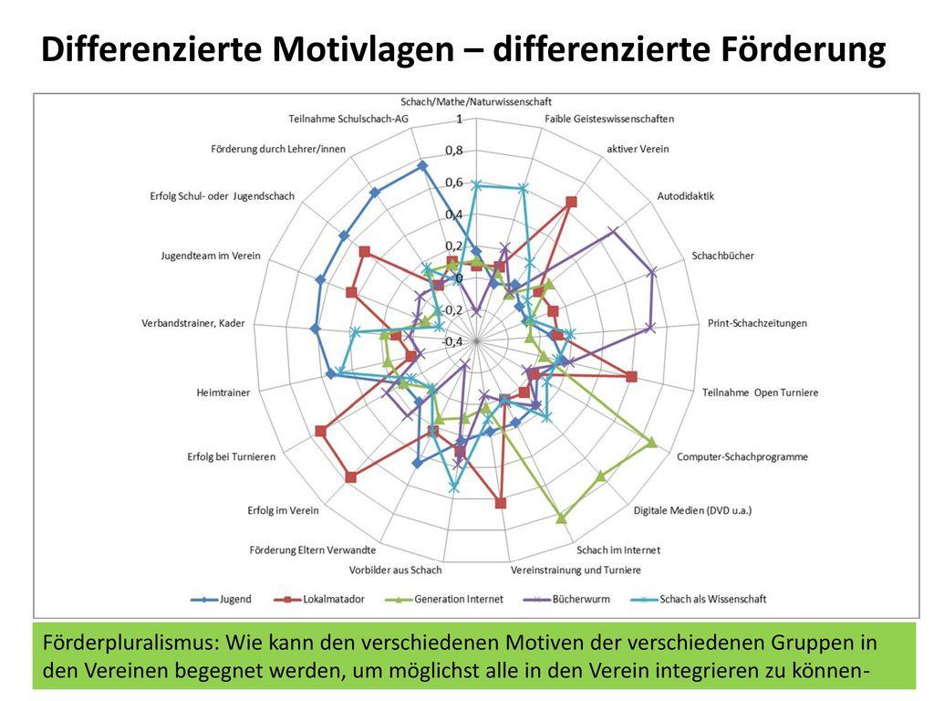 Differenzierte Motivlagen – differenzierte Förderung
