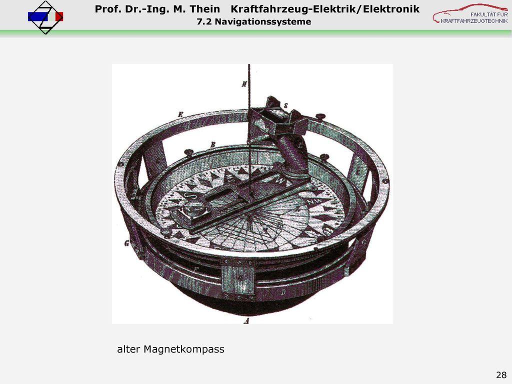 7.2 Navigationssysteme Telematik/Kompass.jpg alter Magnetkompass