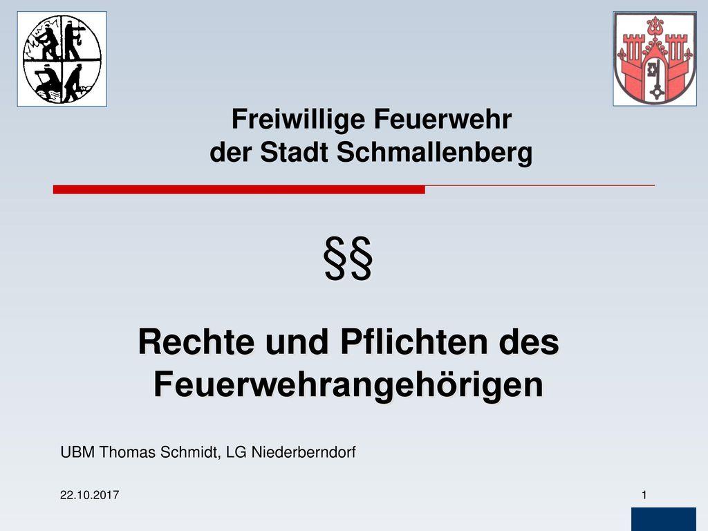 Freiwillige Feuerwehr der Stadt Schmallenberg