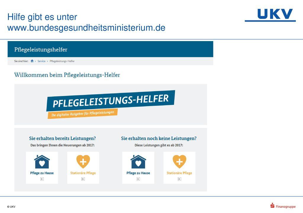 Hilfe gibt es unter www.bundesgesundheitsministerium.de