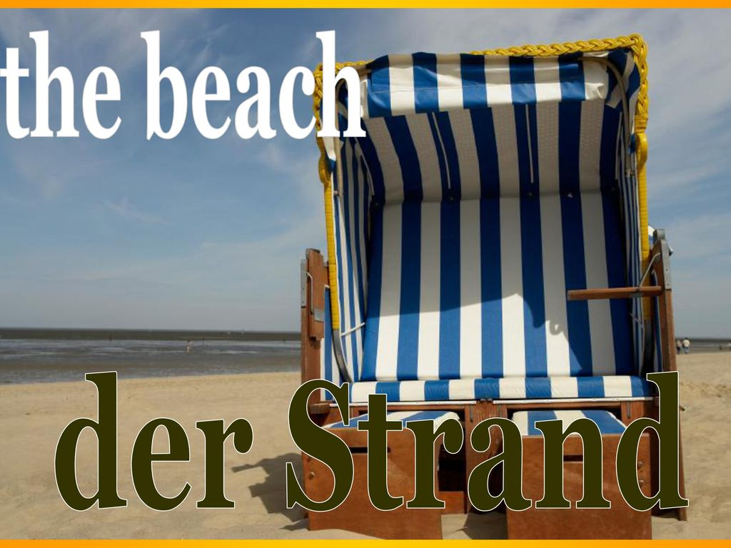 the beach der Strand