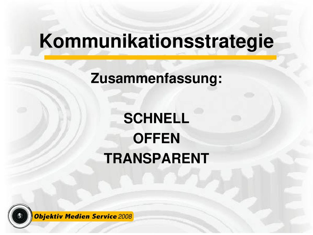 Kommunikationsstrategie