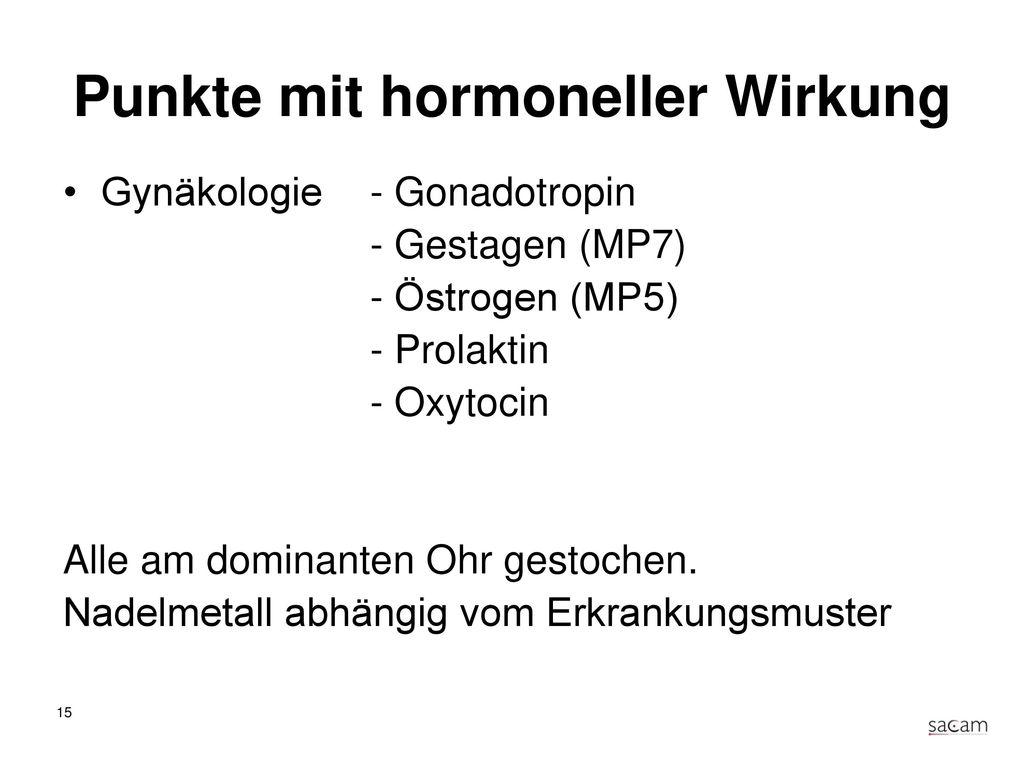 Übergeordnete Punkte Hormon- & Stoffwechselpunke Nervale Organpunkte