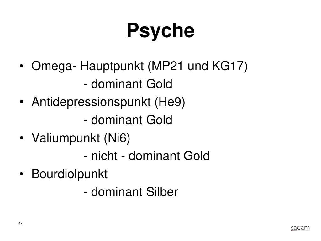 Spasmolyse Plexus coeliacus retro (Dü3) - dominant Gold