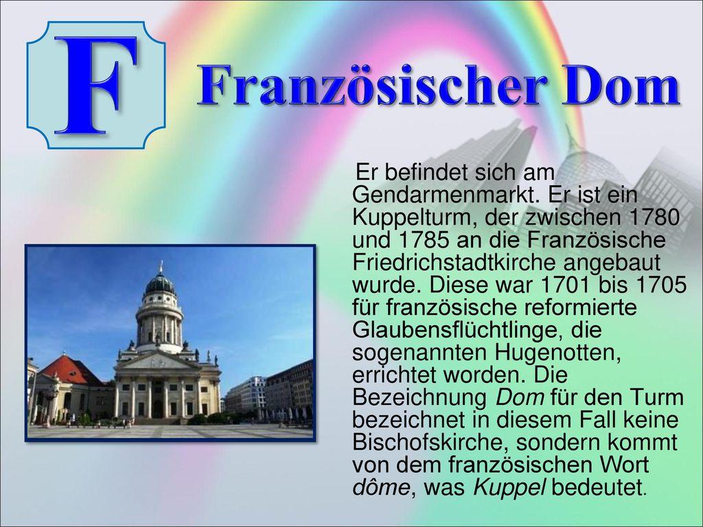 F Französischer Dom.