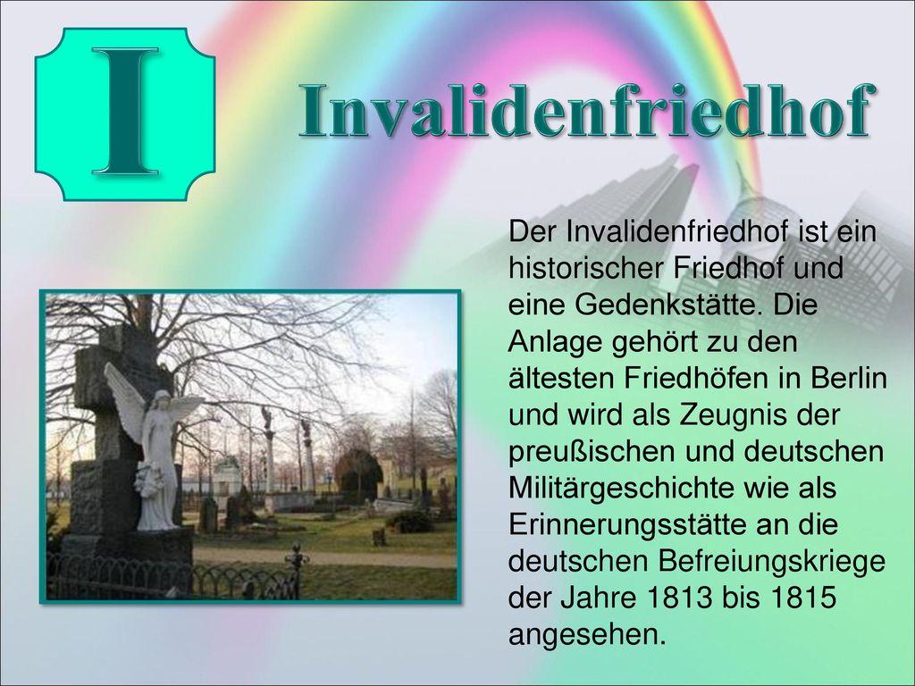 I Invalidenfriedhof.