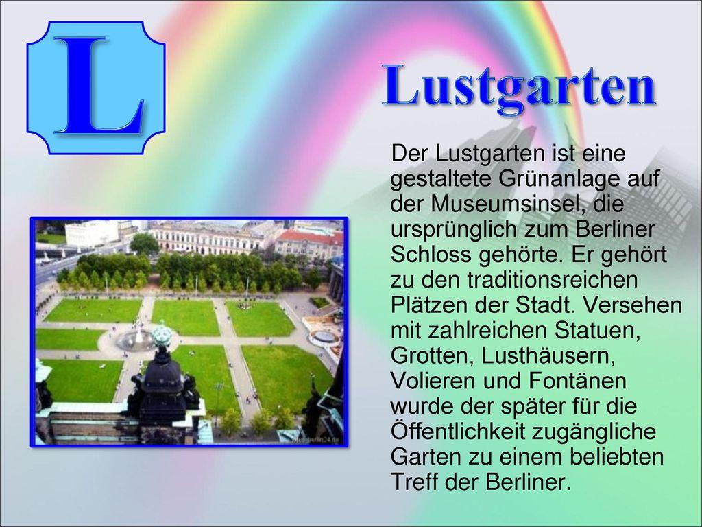 L Lustgarten.