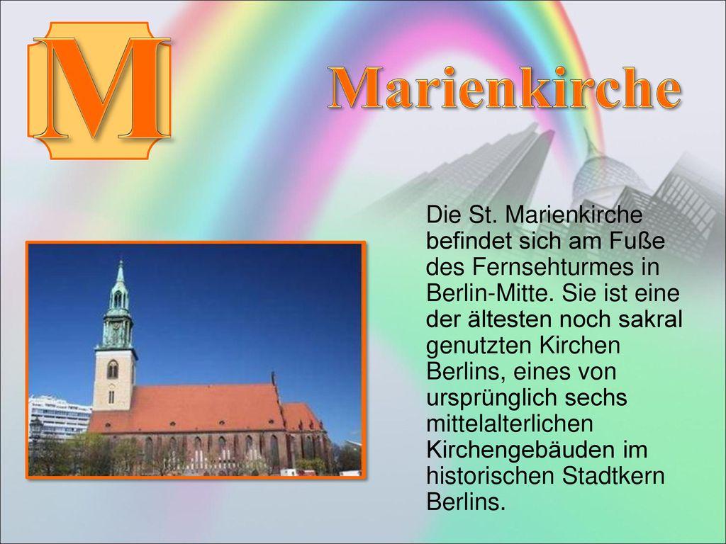 M Marienkirche.