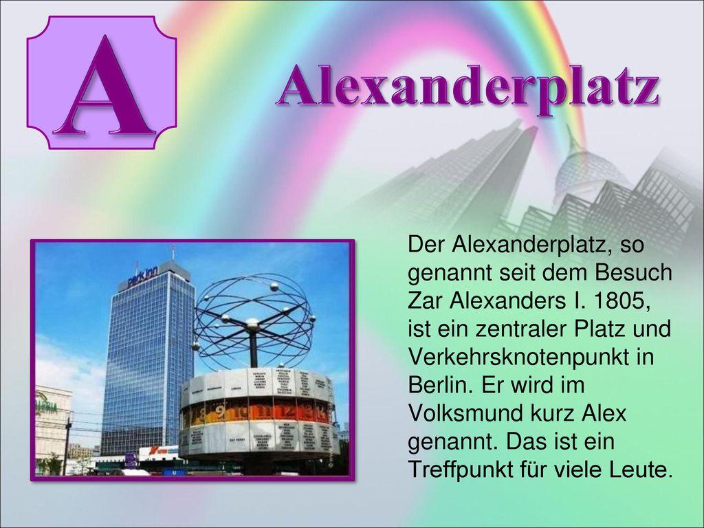 A Alexanderplatz.