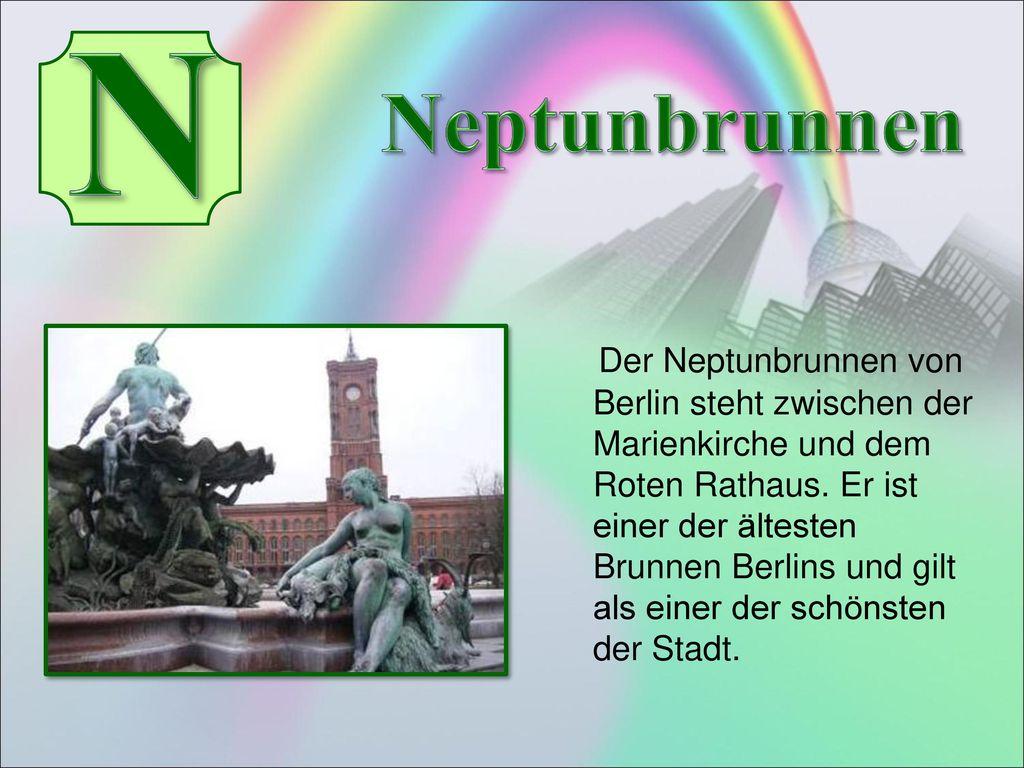 N Neptunbrunnen.