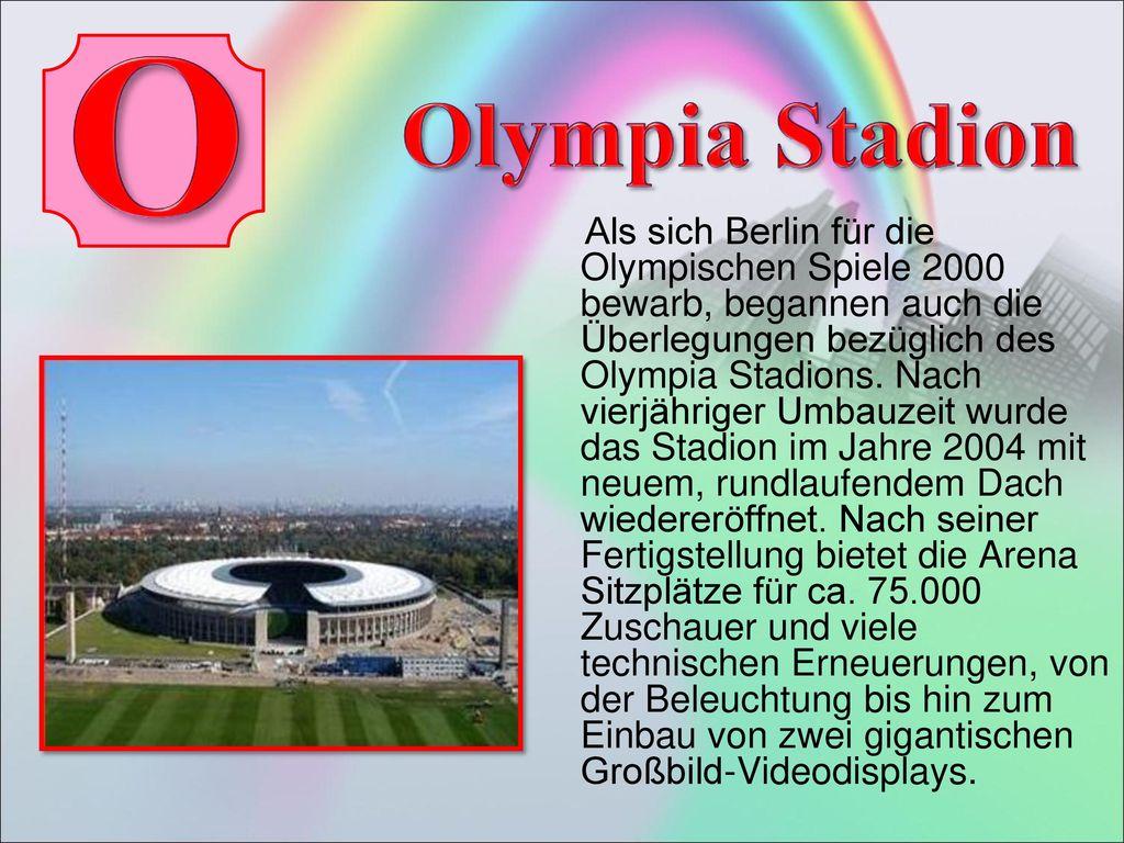 O Olympia Stadion.
