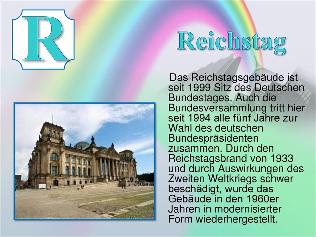 R Reichstag.