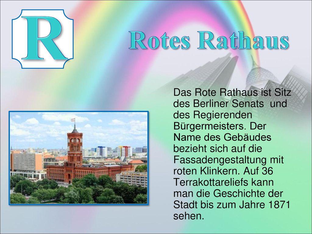 R Rotes Rathaus.